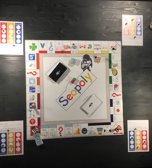 online marketing explained with SEOPOLY board game